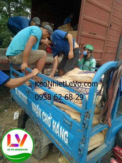 Cung cấp keo Hotmelt POLYOLEFIN cho các khách hàng KCN & Hà Nội
