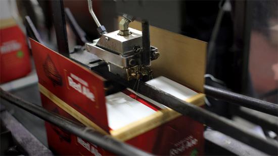 Dây chuyền đóng gói thùng carton tự động sử dụng keo hotmelt