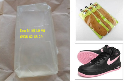 Keo nhiệt nóng chảy dán giày thể thao bằng máy phun keo